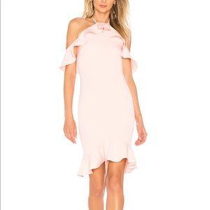Natalie ruffle dress